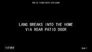Lang breaks into