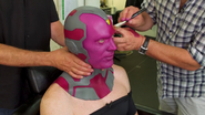 Vision Prosthetic Make Up (BTS - Making of AoU)