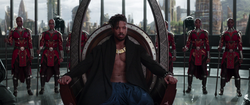BP - Killmonger Sitting In the Throne
