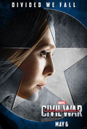 Divided We Fall Scarlet Witch poster