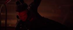 Hawkeye kills all Outriders