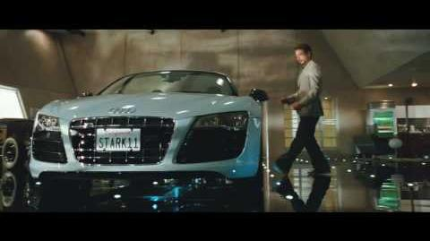 Audi R8 V10 Spyder features in Iron Man 2