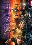 Avengers InfinityWar promotional poster