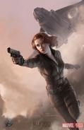 Avengers Poster - Black Widow