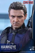 Hawkeye Civil War Hot Toys 20