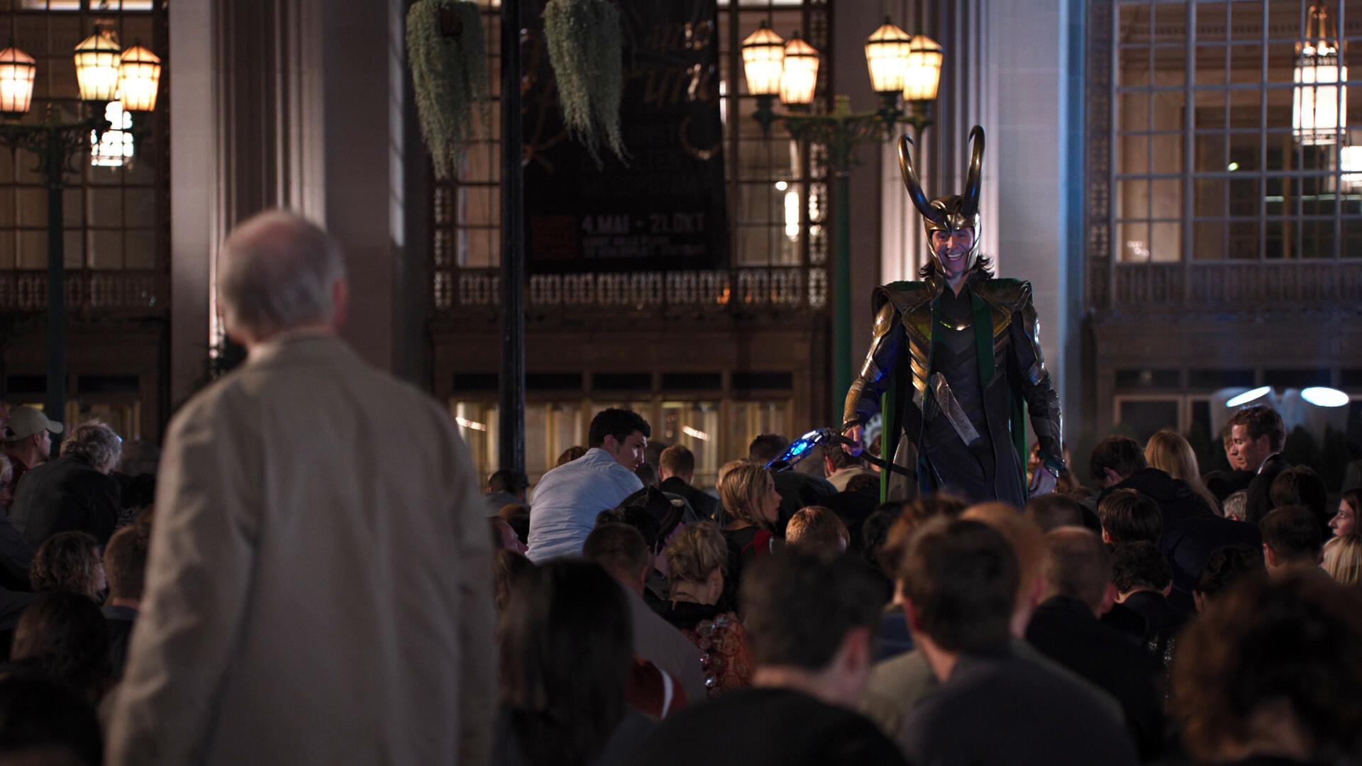 O monomito de Campbell. Loki em Os Vingadores (2012)