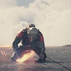 Pym intenta desactivar el misil.