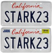 Stark-23-Iron-Man-2-License-Plates