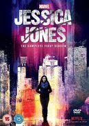 Jessica Jones S1 DVD Cover