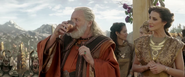 Loki-Odin notices Thor