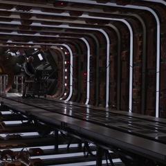Pym trabaja en el túnel cuántico.