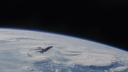Quinjet in Space