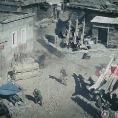 Stark destruye el arsenal de los Diez Anillos.