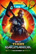 Thor Ragnarok Skurge Poster
