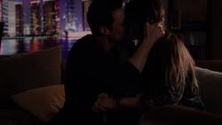 Ward kisses Skye