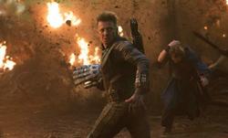 Hawkeye Protecting Infinity Stones