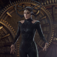 Hela regresa a Asgard.