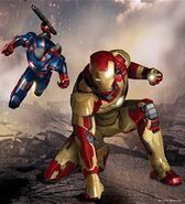 Iron Man 3 Ironman and Warmachine