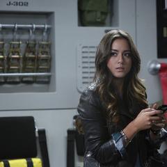 Skye antes de ir con el equipo a encontrar la última pieza del Cayado Berserker.