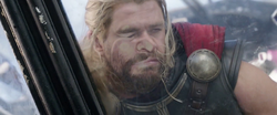 Smushed Against Glass (Thor Ragnarok)