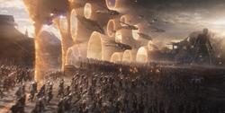 Aliados de los Vengadores se unen para enfrentar a Thanos