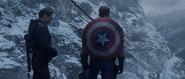 Bucky Barnes & Captain America