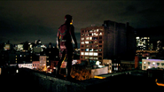 Daredevil Suit Back