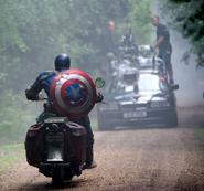 Captain America behind the scenes 5