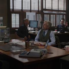 Pym habla con los Asesores de Seguridad X-Con.