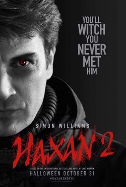 Simon Williams Haxan 2 Poster