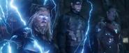 Thor, Captain America & Iron Man