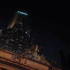 La Torre Stark desde Grand Central Terminal.