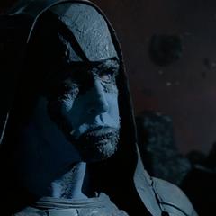 Ronan es amenazado por Thanos.