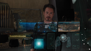 Tesseract Hologram (Stark's Research)