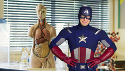 Captain America's Health Class PSA (Spider-Man Homecoming)