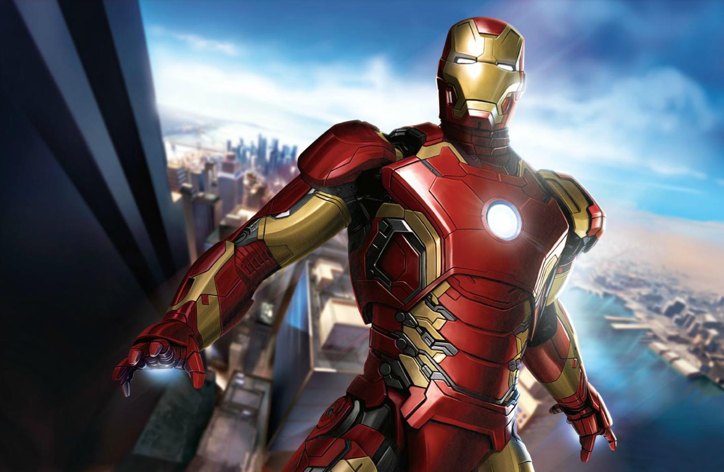 Avengers 2 Iron Man Concept Art