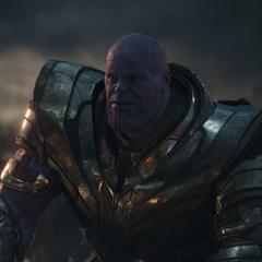 Thanos descubre a Stark, Rogers y Thor.