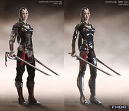 Thor The Dark World 2013 concept art 44