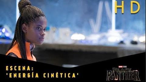 Black Panther de Marvel Escena 'Energía cinética' l HD