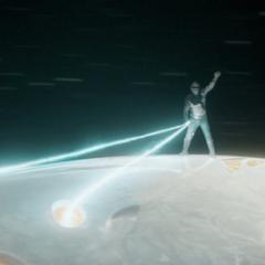 Ego saluda a los Guardianes tras destruir a la flota de Soberanos.