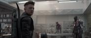 Hawkeye getting a call 1