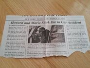 Howard Stark death news