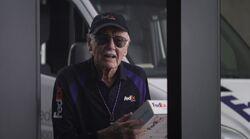 Stan Lee FedEx Driver