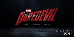 Segunda temporada Daredevil Logo