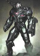 Avengers Endgame War Machine concept art 2