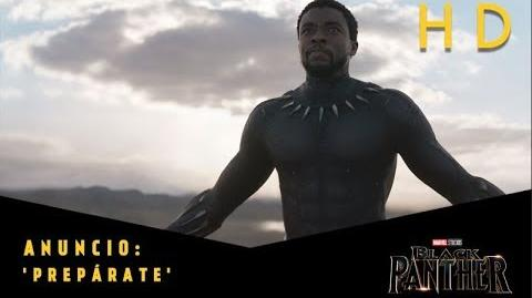 Black Panther de Marvel Anuncio 'Prepárate' l HD