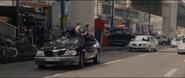 Captain America Car Crash