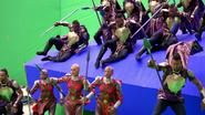 Wakandan Soldiers (Infinity War BTS)
