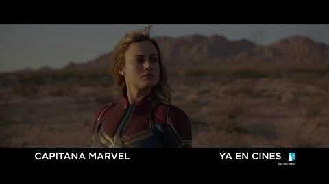 """Capitana Marvel Anuncio """"Héroes"""" HD"""