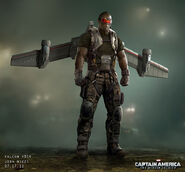 Captain America The Winter Soldier 2014 concept art 38